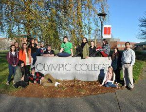 Sinh viên trường cao đẳng cộng đồng olympic college